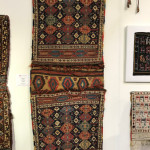 Complete Shahsavan sumakh khorjin, 19th century, Caucasus. Sold by Peter Pap as part of the exhibition, Artful Weavings, collection of Mr. and Mrs. Wendel Swan