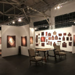 Peter Pap's exhibition Artful Weavings at The Tribal & Textile Art Show