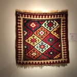 Kuba bagface, northeast Caucasus, 19th century. Offered by Peter Pap as part of the exhibition, Artful Weavings, cMr and Mrs Bruce Baganz collection