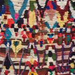 Boujad rug detail, 20th century, Middle Atlas. Gebhart Blazek, Graz, Austria