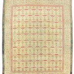 CHRISTIE'S LONDON, 27 APRIL 2017. LOT 194. AGRA CARPET, NORTH INDIA, LATE 19TH CENTURY. 14FT.4IN. X 11FT.11IN. (435CM. X 363CM.). ESTIMATE £25,000 – 35,000