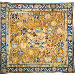 Lot 311, China carpet, circa 1830/1850; overall repiling. Wannenes, 25 May, Opencare, Milan, Estimate € 1,800 - 2,800