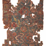 Lot 397, Ushak carpet fragment, central Anatolia, 18th century, 245x152cm. Wannenes, 25 May, Opencare, Milan, Estimate € 3,000 - 6,000