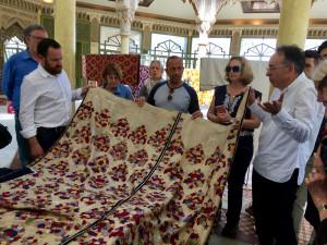 Embroidered Rabat curtain, El Kholti Collection, Rabat