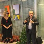 Rug expert Berdj Achdjian from Paris introduces the Leila Benjelloun Collection, Casablanca