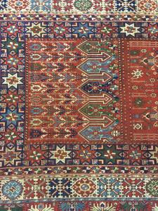 Rabat carpet, 19th century, Leila Benjelloun Collection, Casablanca