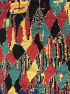 Azilal rug, 20th century, Leila Benjelloun Collection, Casablanca