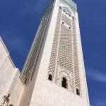 The world's tallest minaret, Hassan II Mosque, Casablanca