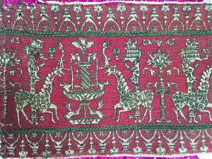 Moroccan embroidery, Azzemour, 18th century, Khalid & Lamiaa El Kholti Collection, Rabat