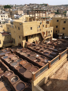 Tanneries Chouwara, Fez