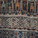 Ait Abdel Hamid prestige rug with figurative motifs, early 20th century, Dar Batha Museum, Fez