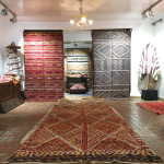 Special textile focussed exhibition at Khalid Art Gallery, Marrakesh