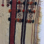 Detail of a decorative haik edge, Anti Atlas, Lucien Viola Collection, Marrakesh
