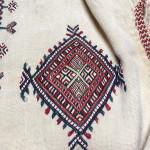 Ceremonial boy's shirt (detail), Ait Ouaouzguite, southern Anti Atlas, Morocco, circa 1920s. Abdelhay Collection, Mouassine Museum, Marrakesh