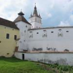 A fortified Transylvanian church