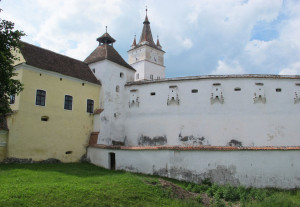 A fortified Transylvanian church