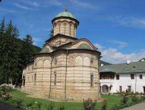 Cozia Orthodox monastery, burial place of the Romanian kings