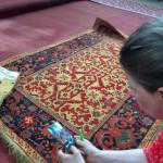 Studying 'Transylvanian' carpets