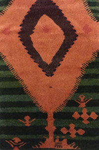 Rug from Wilfried Stanzer's Ait Khozema Project in the Anti Atlas village of Amassine, which he has coordinated since 1995