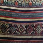 Double faced pile and flatweave cover, Sale, Dar Jamai Museum, Meknes