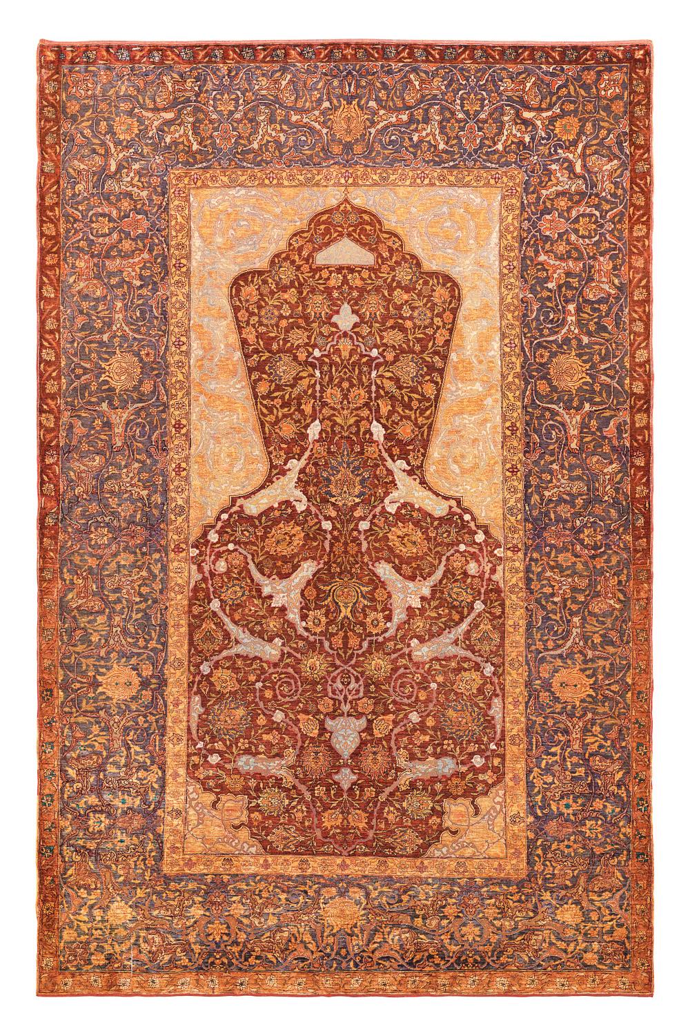 Kum Kapı arabesque rug