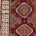 Lot-7, West-Anatolian-rug-fragment, 17th century, est. £7,000-9,000, sold for £23,750 ($31,225). Sotheby's London, Rugs and Carpets, 7 November 2017