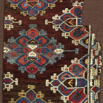 Lot-8 Bergama-rug-fragment, west Anatolia, 1700 or earlier, est. £1,400-1,800, sold for £10,000 ($13,150), Sotheby's London, Rugs and Carpets, 7 November 2017