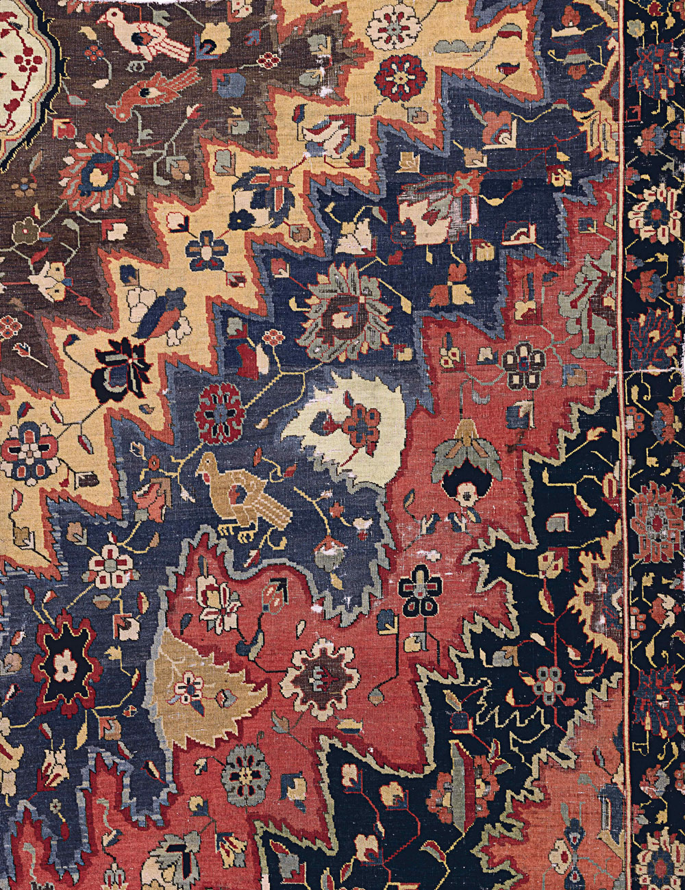 'Portuguese' carpet fragment