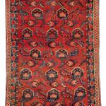 Lot 231, Beshir carpet, Central Asia, middle Amu Darya region, First half 19th century. 270 x 130 cm. Estimate €4,700