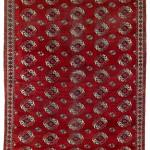 Lot 109. Salor Main Carpet, Central Asia, West Turkestan, Ca. 1800. 318 x 245 cm. Estimate €58,000.