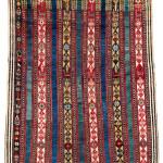 Lot 143. Shahsavan pile rug,  South East Caucasus, Moghan region,  Mid 19th century. 204 x 164 cm. Estimate €15,000.