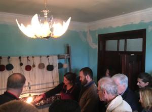 Chelov village weaver's home loom