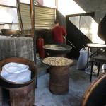 Sweet Shop kitchen, Sheki, Azerbaijan