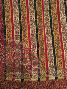 Kashmir Moon Shawl detail, Simon Janashia National Museum of Georgia stores