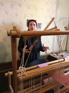 Director of the State Silk Museum, Nino Kuprava