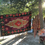 Soviet era kilim, Dry Bridge Antiques Market, Tbilisi