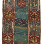 Lot 10 Anatolian carpet, 18th century, est. £15-20,000, sold for £25,000 ($32,870). Sotheby's London, Rugs and Carpets, 7 November 2017