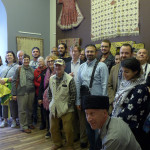 HALI Tour group at the FR Collection exhibition, Baku