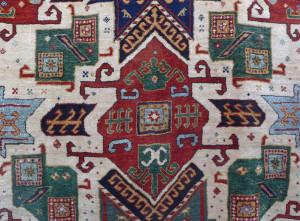 reWoven Star Kazak rug