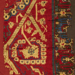 Lot 26, Two Sarkislar carpet fragments, East-Anatolia, (est. £5,500-7,500), sold at £50,000 ($65,470)
