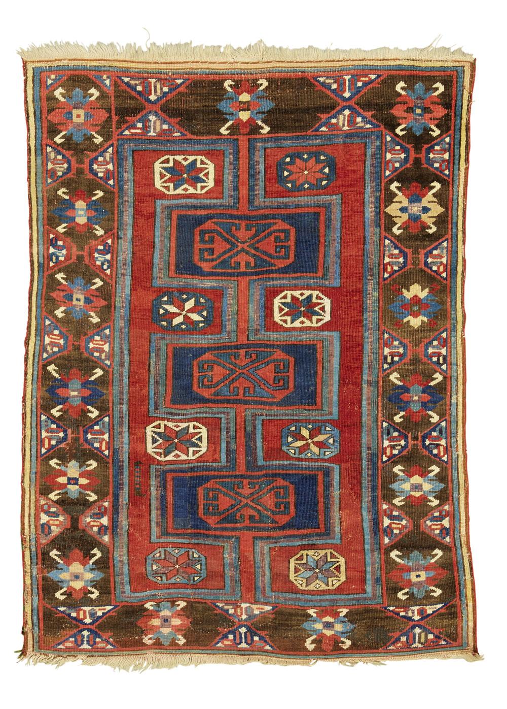 Lot 85, Karapinar rug, estimated at £2,800-4,000, sold at £31,250 ($41,090)