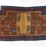 AARON NEJAD, Tibetan Saddle Cover, Circa 1880, 1.15m x 0.69m