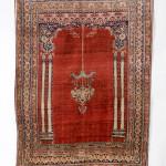 SENEH CARPETS, Silk Tabriz Rug, Persia, late 19th century, 1.70m x 1.25
