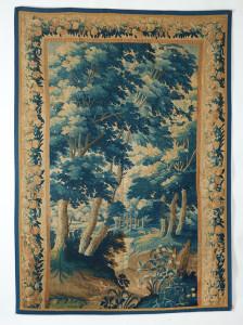 AARON NEJAD, Flemish Verdure Tapestry, Circa 1700, 2.55m x 1.82m
