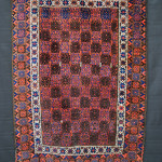 Brian MacDonald, Baluch tribal rug, Khorassan Province, North-East Persia circa 1870, size 1.42m x 0.90m