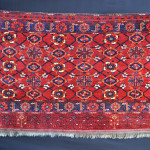 Brian MacDonald, Ersari, storage bagface, Middle Amu Darya region, Turkmenistan, mid - third quarter 19th century
