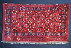 Brian MacDonald, Ersari, storage bagface, Middle Amu Darya region, Turkmenistan, mid - third quarter 19th century