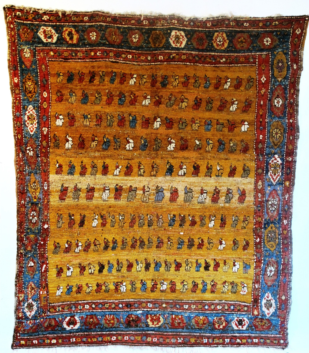 Carpet Restoration Studio, Anatolian Village Rug, Turkey, 19th century, 2.10m x 1.80m