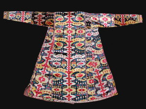 Galerie Arabesque - silk ikat coat back