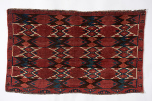 TRIBAL RUGS GALLERY, Djuval rug by the Beshir tribe of Turkmenistan, Central Asia,  19th century